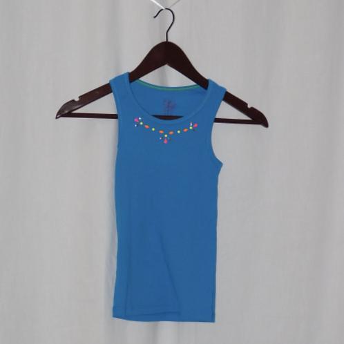 Girls Short Sleeve Shirt, Size M (7-8)