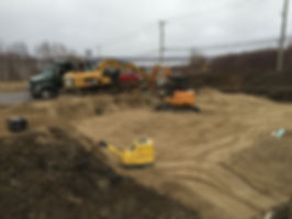 Excavation d'une maison