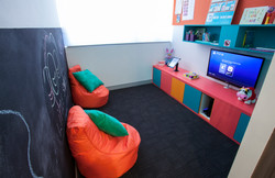 Our colourful playroom