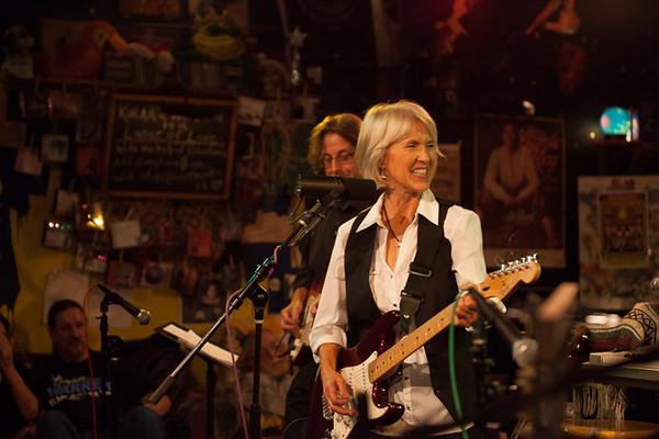 Diana on Guitar