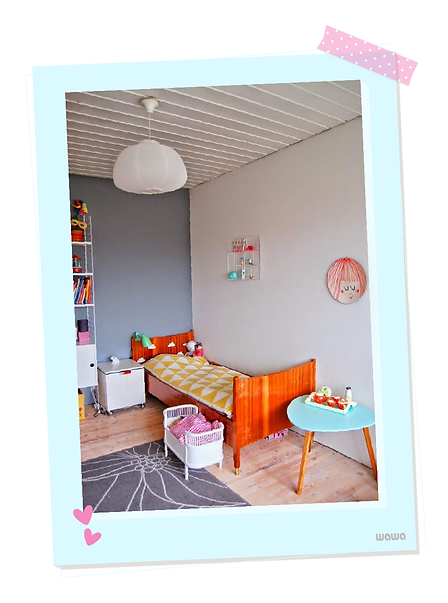 Estilo Vintage en el cuarto de los niños...   WAWA diseña su mundo