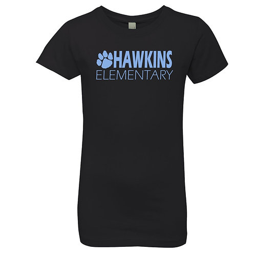 Hawkins Pawprint Girls Tee