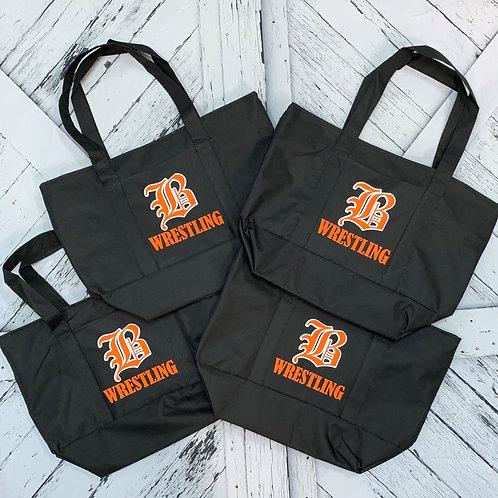 Brighton Wrestling Tote Bag