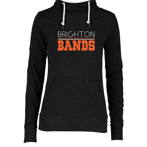 Brighton Bands Ladies Hooded Funnel Neck Tee