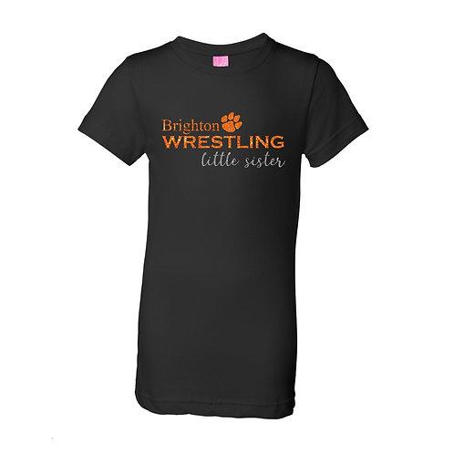 """Brighton Wrestling """"Little Sister"""" Girls Tee"""