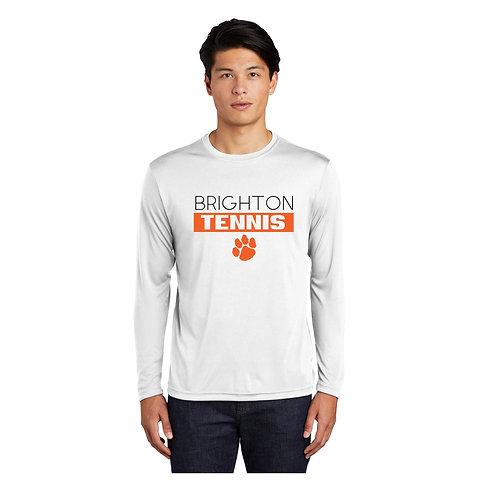 White Brighton Tennis Performance Shirt (Long or Short Sleeve)