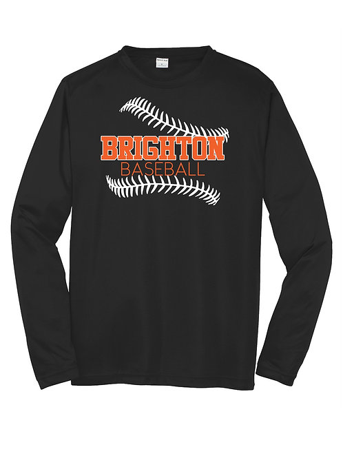 Brighton Baseball Long Sleeve Performance Tee(2)