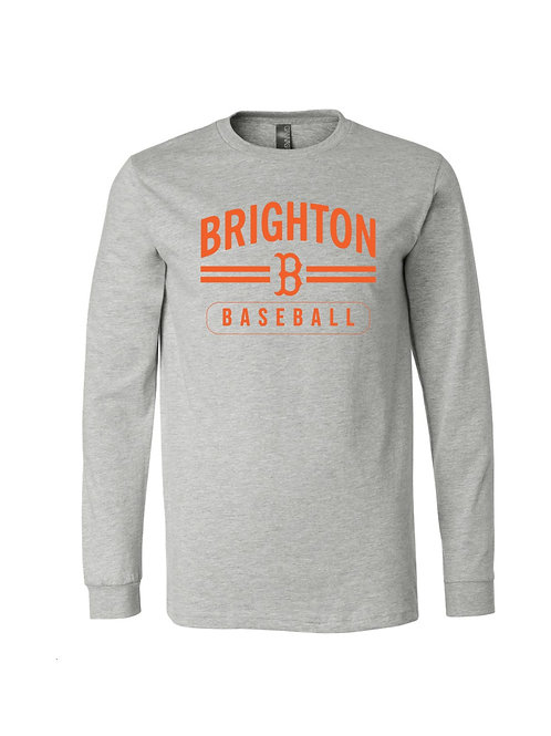 Brighton Baseball Long Sleeve Premium Cotton Tee