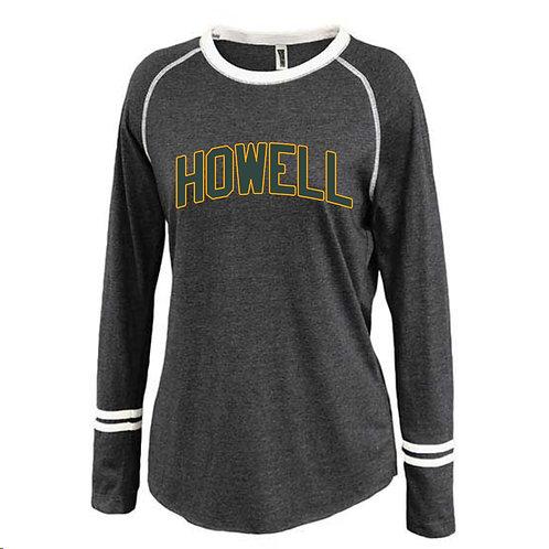 Howell Ladies Ringer Long Sleeve Shirt