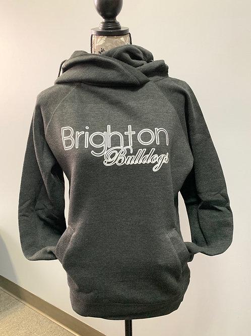 Brighton Bulldogs Ladies Funnel Neck Hoodie