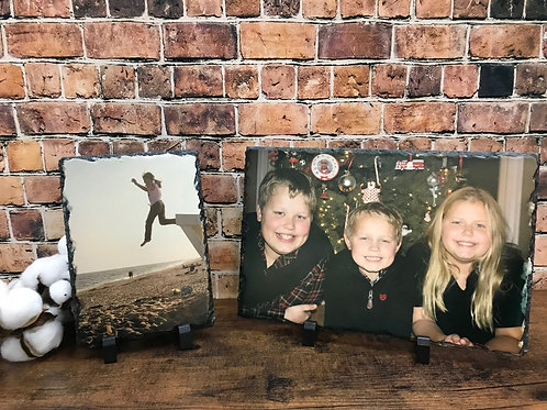 "Photo Slate - Rectangle 5.5"" x 11.75"""