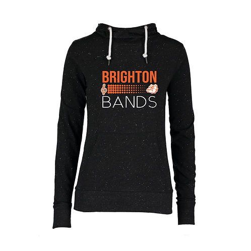 Brighton Bands  Treble Dog Hooded Funnel Neck Tee