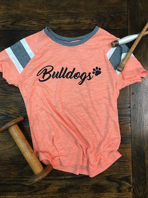 Bulldogs Athletic Tee