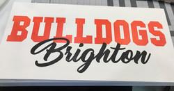 Brighton Bulldogs Sign
