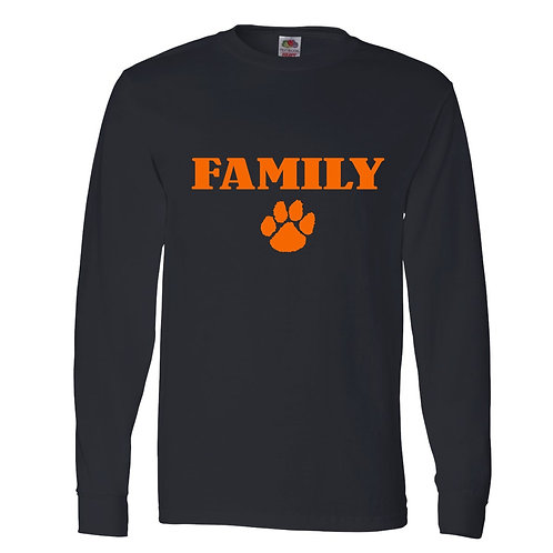 "Bulldog ""FAMILY"" Cotton Long Sleeve"