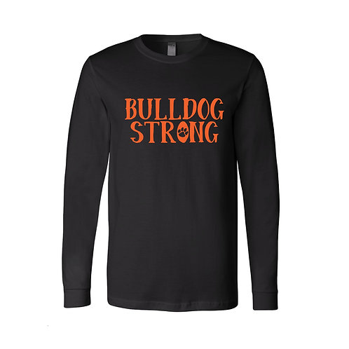 Bulldog Strong Long Sleeve Tee