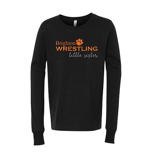 """Brighton Wrestling """"Little Sister"""" Long Sleeve Tee"""