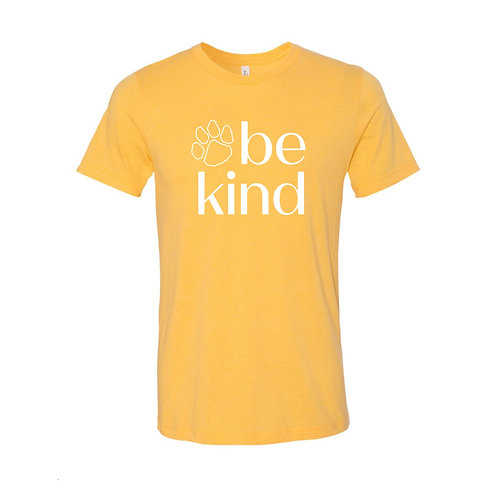 Be Kind Tee - Yellow