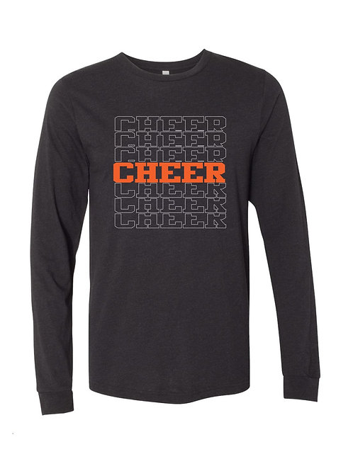 Brighton Cheer Long Sleeve Tee - APPROVED FOR PRACTICE