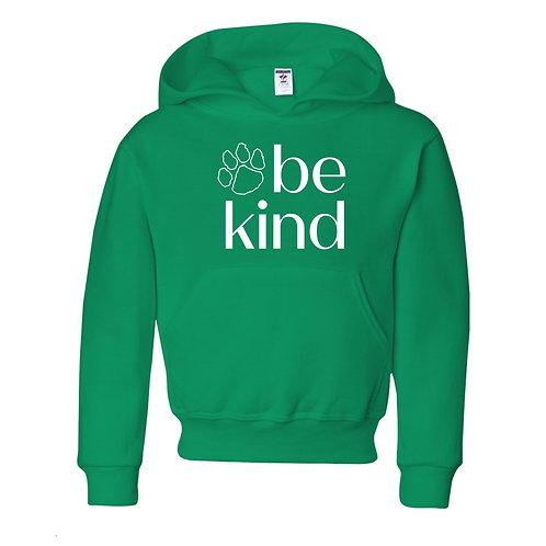 Be Kind Hoodie - Green