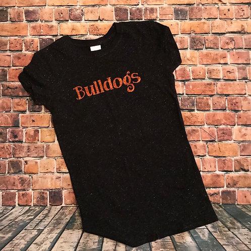 """Bulldogs """"Glitter Tee"""""""