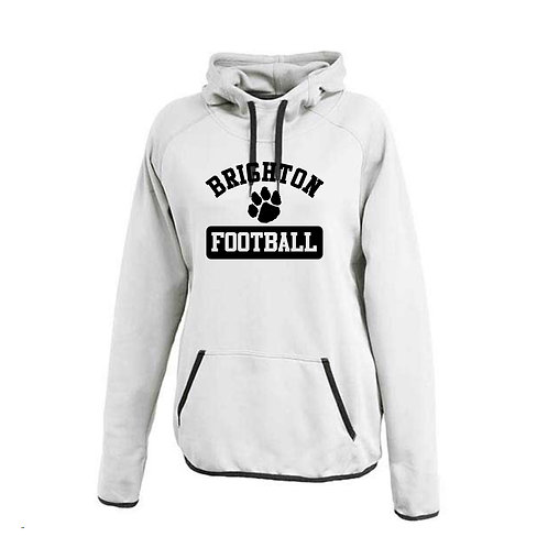 Ladies Brighton Football Scuba Hoodie