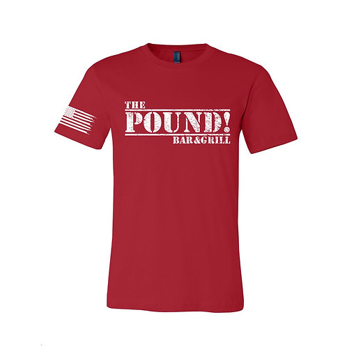 The Pound RED (REMEMBER EVERYONE DEPLOYED) TEE