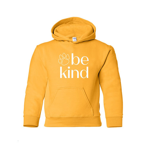 Be Kind Hoodie - Yellow