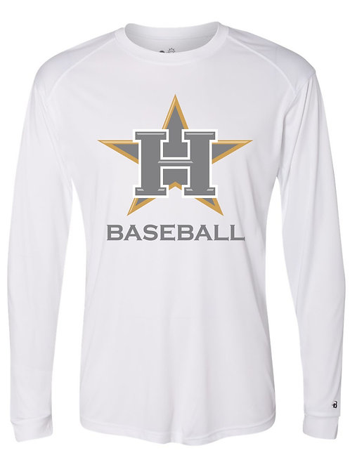 Hawks Gold Long Sleeve Performance Tee