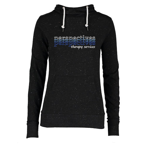 Perspectives Therapy Ladies Hooded Funnel Neck Tee