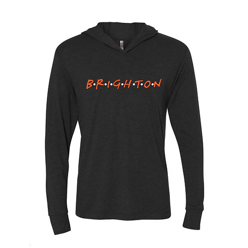 "BRIGHTON ""FRIENDS"" hooded tee"