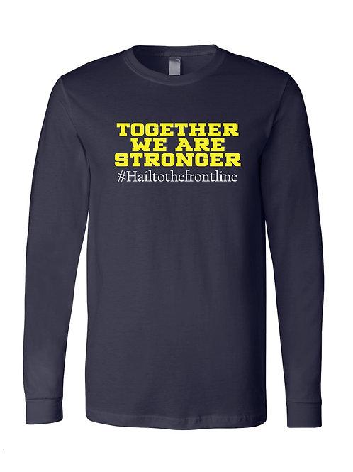 "Michigan Medicine Together"" Long Sleeve Tee - alternative design"