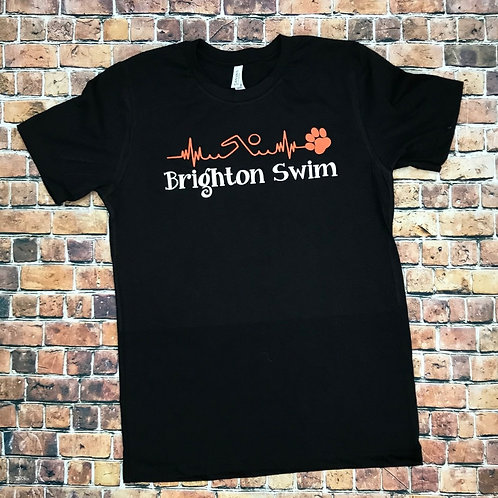 "Brighton Swim ""Heartbeat"" Tee"