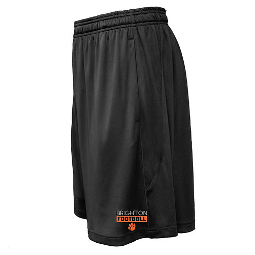 Solid Black Brighton Football Shorts