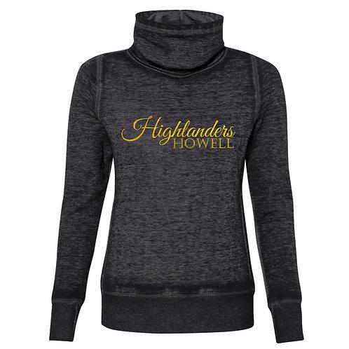Highlanders Ladies Cowl Neck