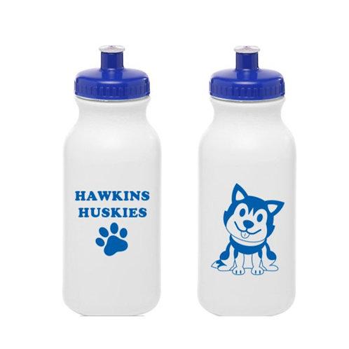 Hawkins Huskies Plastic Water Bottle