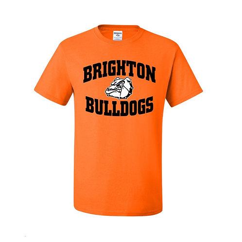 Bright Orange Bulldog T-Shirt