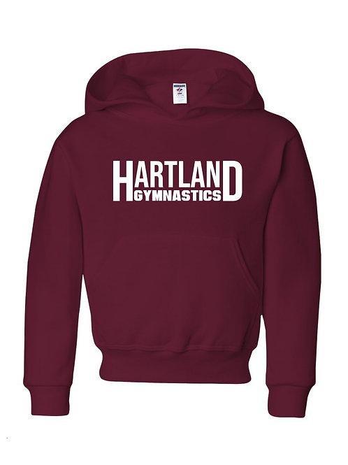 Hartland Gymnastics Hoodie (maroon)
