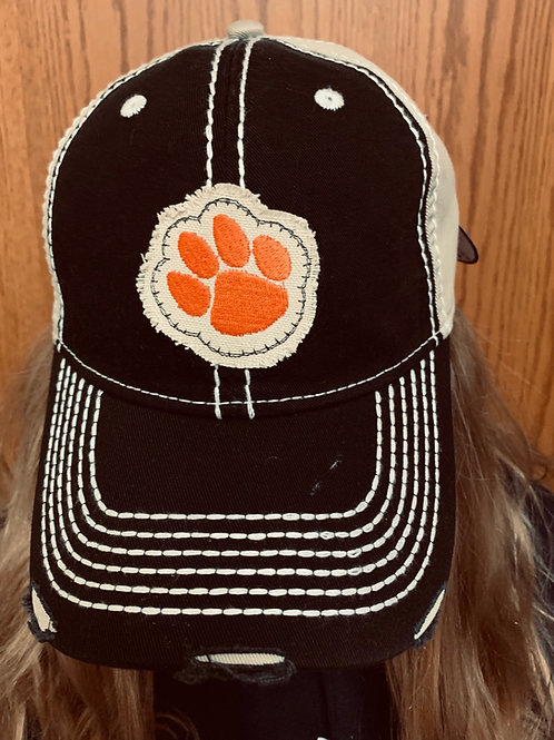 Raggy Patch Pawprint Cap