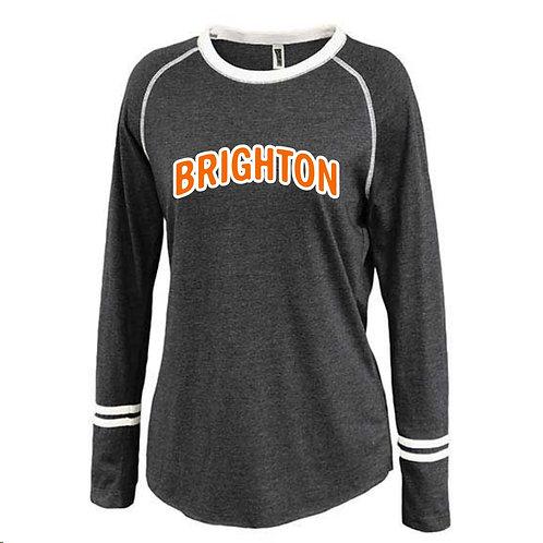 Brighton Ladies Ringer Long Sleeve Shirt