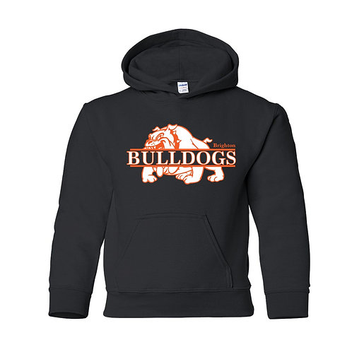 Split Bulldog Hoodie