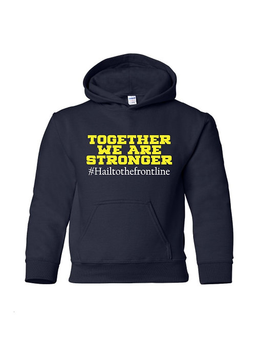 "Michigan Medicine Together"" Hoodie - alternative design"