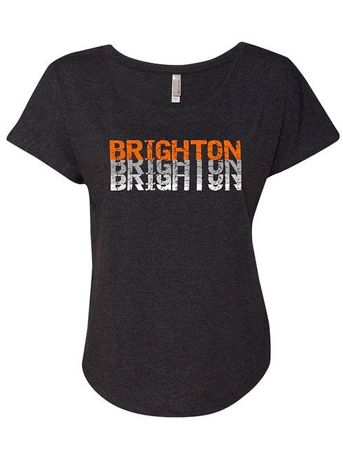 Vintage Brighton Ladies Dolman Tee
