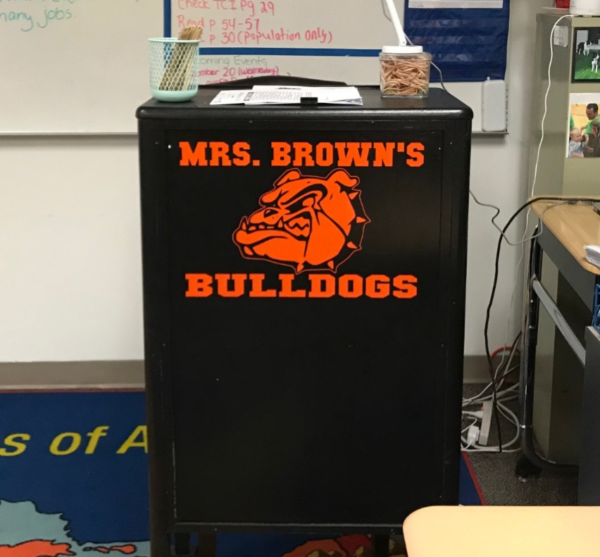 Teacher's Podium Personalization