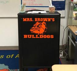 Teacher's Podium Personalization