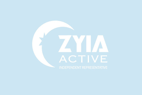 ZYIA Active Decals - 2 packages of 6