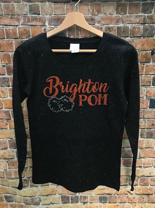 Brighton POM Glitter Shirt