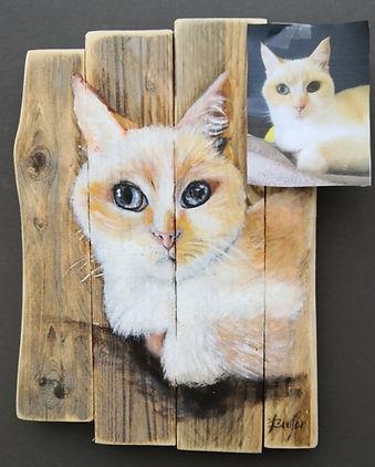 peinture sur planche