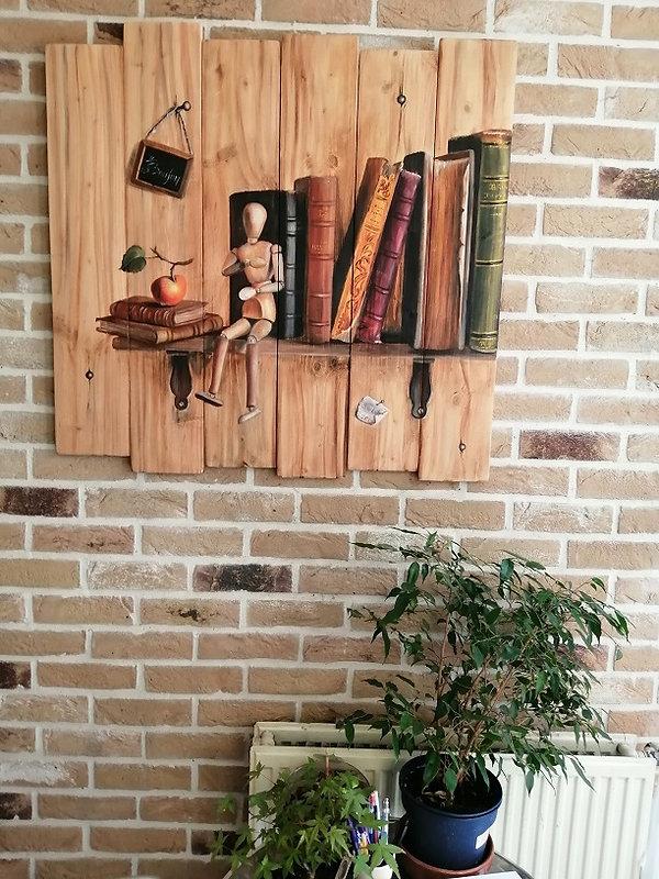 Les livres - Effet Bois sur Briques