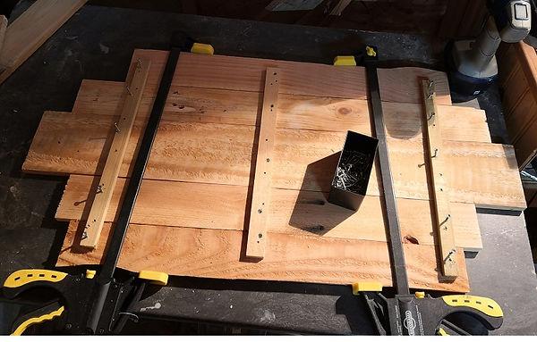 assemblage des planches